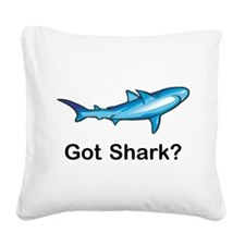 Got Shark Square Canvas Pillow