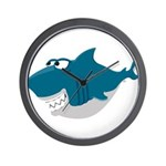 Cute Shark Wall Clock