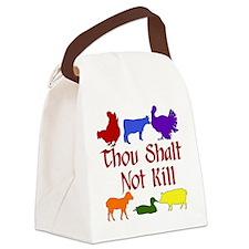 Thou Shalt Not Kill Canvas Lunch Bag