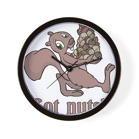 Got Nuts? Wall Clock