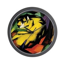 Franz Marc Tiger Wall Clock