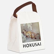Cool Ukiyo e Canvas Lunch Bag