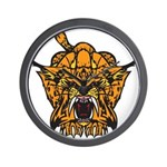 Fierce Tiger Wall Clock