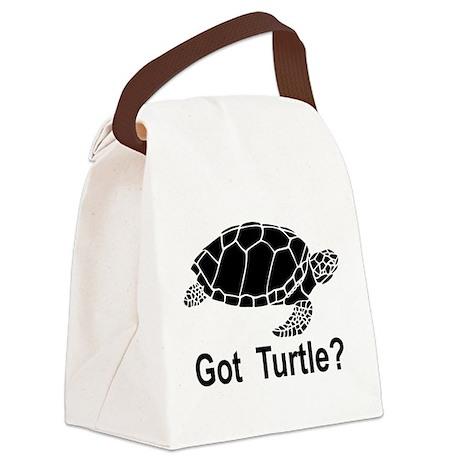 Got Turtle Canvas Lunch Bag