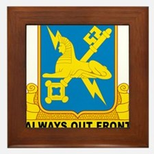 USA Army Military Intelligence Insignia Framed Til