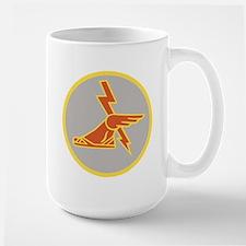 USA 9th Signal Battalion Large Mug