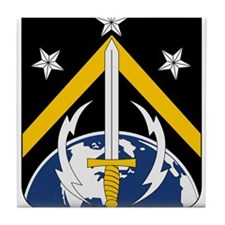 USAF 1st Space Battalion Emblem Tile Coaster