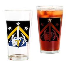 USAF 1st Space Battalion Emblem Drinking Glass
