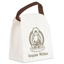 Cute Buddha Canvas Lunch Bag