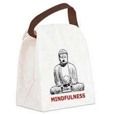 Mindfulness Canvas Lunch Bag