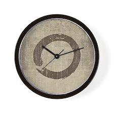 Vintage Enso Symbol Wall Clock