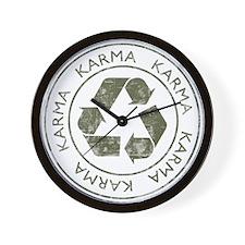 Vintage Karma Wall Clock