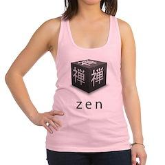 Zen Cube Racerback Tank Top
