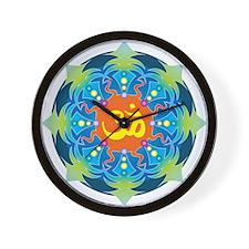 Buddhist Om Wall Clock