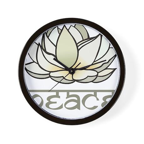 Lotus Wall Clock By Esangha