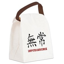 Impermanence Canvas Lunch Bag