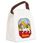Snow Lion + Dharma Canvas Lunch Bag