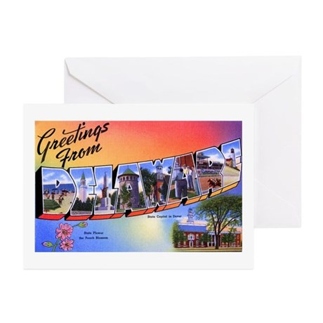 Delaware Greetings Greeting Cards (Pk of 10)