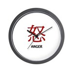 Anger Wall Clock