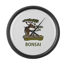 Bonsai Large Wall Clock
