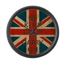 Cool Vintage london Large Wall Clock