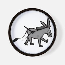 Cute Donkey Wall Clock