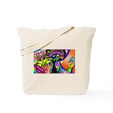 psychodelycat Tote Bag