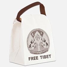 Vintage Free Tibet Canvas Lunch Bag