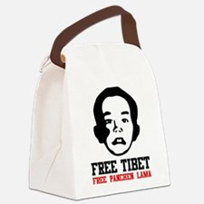 Free Panchen Lama Canvas Lunch Bag
