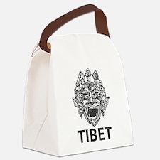 Tibetan Deity Canvas Lunch Bag