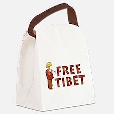 Tibetan Lama Free Tibet Canvas Lunch Bag