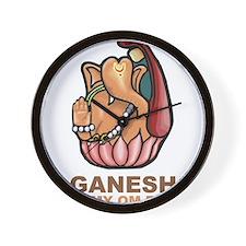 Ganesh Is My Om Boy Wall Clock