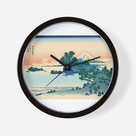 Ukiyo e Wall Clock