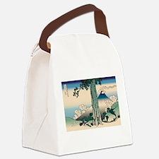 Ukiyo e Canvas Lunch Bag