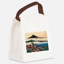 Hokusai Dawn at Isawa Canvas Lunch Bag
