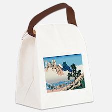 Hokusai Minobu River Canvas Lunch Bag