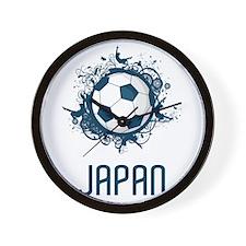 Japan Football Wall Clock