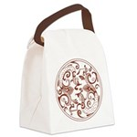Japanese Design Canvas Lunch Bag