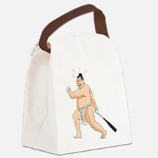 Baseball Sumo Canvas Lunch Bag