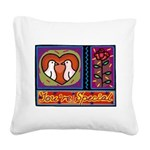 You're Special Square Canvas Pillow