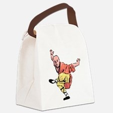 Shaolin Kungfu Canvas Lunch Bag