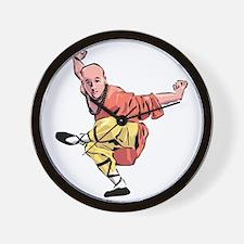 Shaolin Kungfu Wall Clock