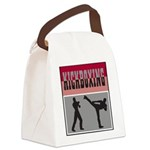 Kick boxing Canvas Lunch Bag