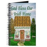 'God Bless Our Irish Home' Cottage Journal