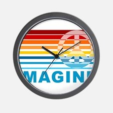 Imagine Peace Wall Clock