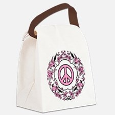 Chinese Peace Symbol Canvas Lunch Bag