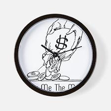 Retro Money Wall Clock