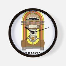Retro Jukebox Wall Clock