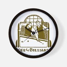 Retro Billiards Wall Clock