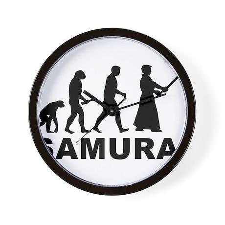 Samurai Evolution Wall Clock